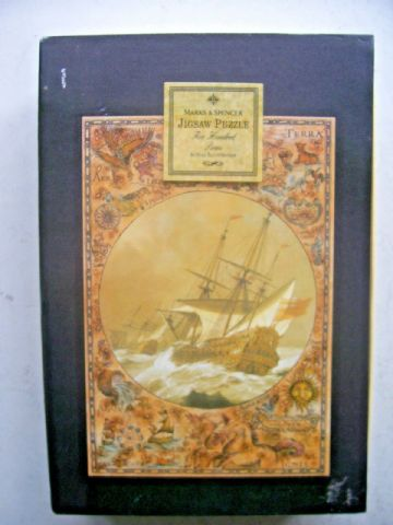 English Galleon  500 Piece Jigsaw by Marks and Spencer New and Sealed